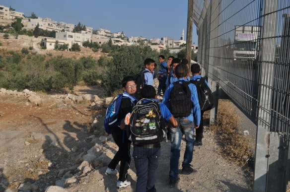 The occupation shapes various dimensions of Palestinian life, including education. Photo EAPPI/L. Aquino