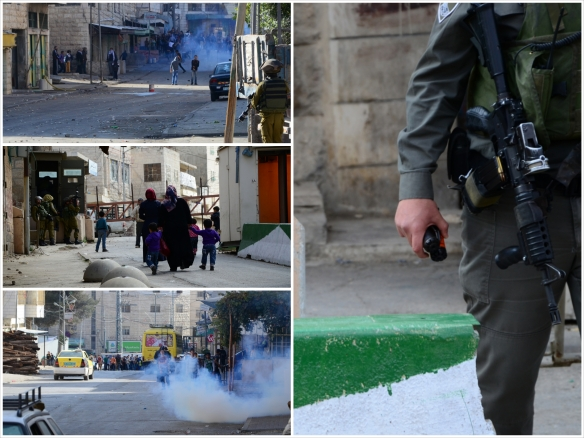 Images of everyday life at checkpoints 209 and 29 where clashes occur daily. Photo EAPPI/M. Knoblauch.