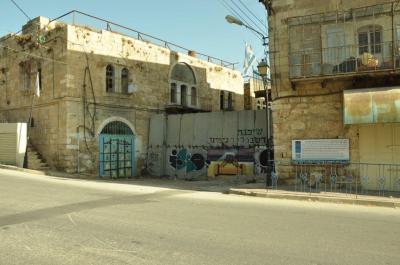 Many roadblocks separate Palestinians from Israelis on Shuhada Street. Photo EAPPI/S. Robinson.
