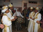 Dancing as part of the Ethiopian service. Photo EAPPI/P. Craine.