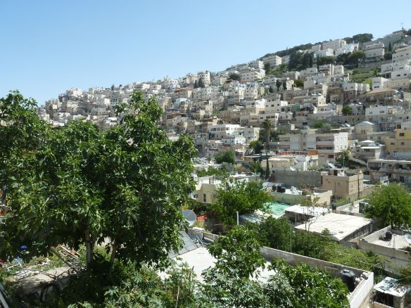 Silwan is located just south of the Old City walls in Jerusalem. Photo EAPPI/L. Sharpe.