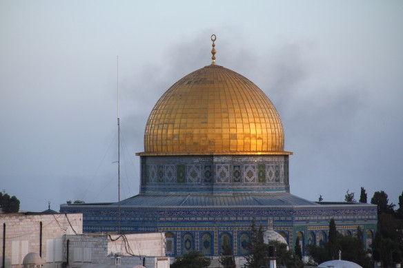 The Dome of the Rock on the Haram al-Sharif/Temple Mount. Photo EAPPI.