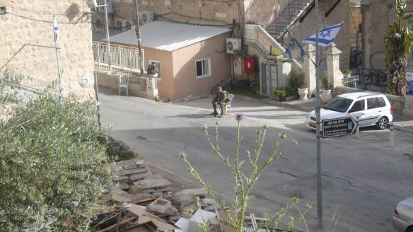 Checkpoint 55 in Hebron. Photo EAPPI/S. Gartlacher.