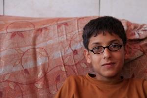 Muhammad, Mustafa's 12 year old son. Photo EAPPI/T. Fjeldmann.