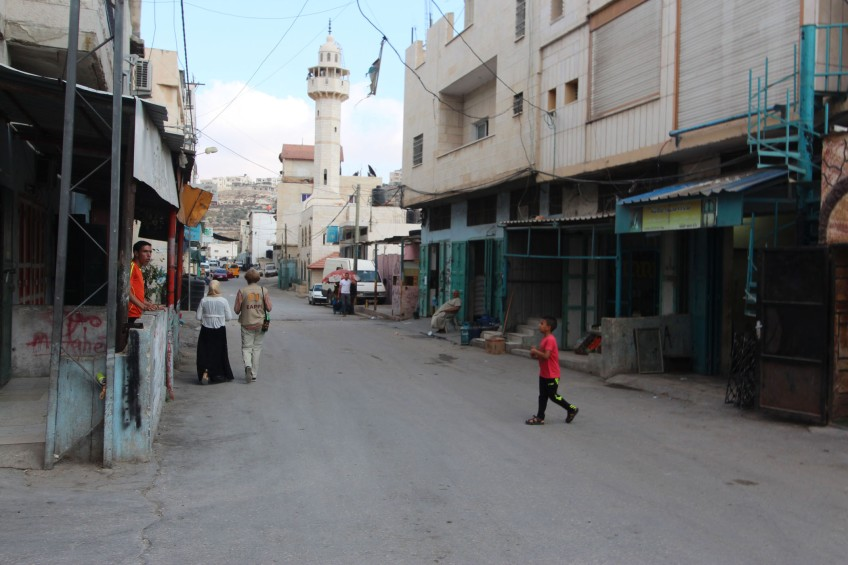 tour of fawwar refugee camp