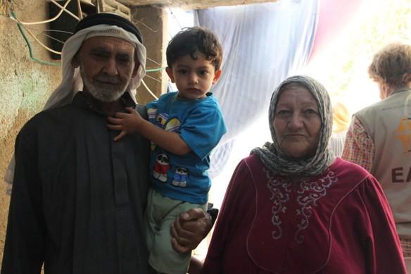 Khalil Mohammad Al Anati's grandparents