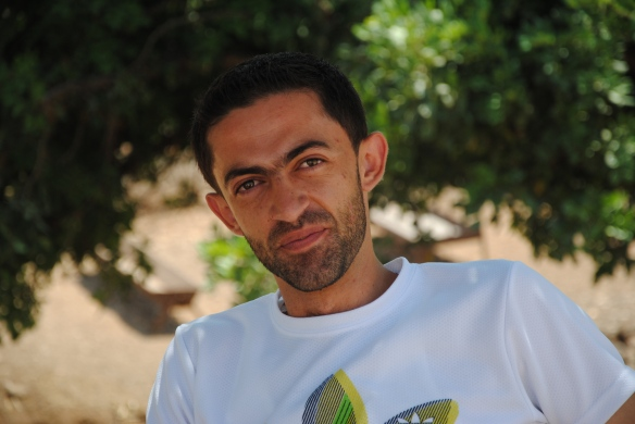 Sameh Shahrouj, Age 24. An English Teacher at As Sawiya School. Photo EAPPI/H. Kjollesdal.