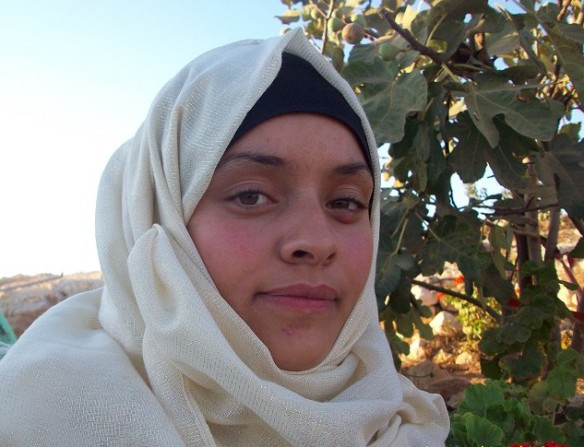 Kawthar Al-Nawajah is a student at Al Quds University, Yatta Branch. Photo EAPPI/E. Maga-Cabillas.