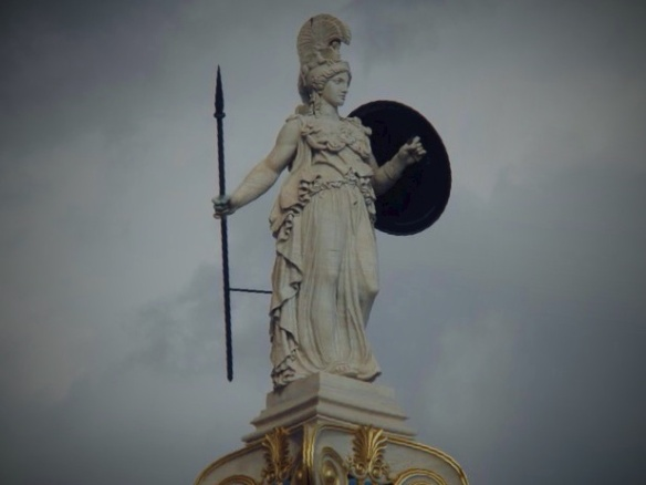 JKaprio_Statue of Athena in central Athens_Greece_2010