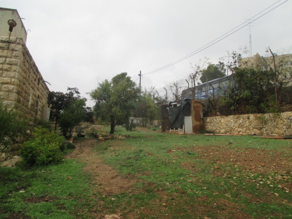 Photo Kayed's house close to Kiryat Arba.