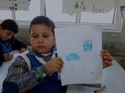 Hamza's drawing