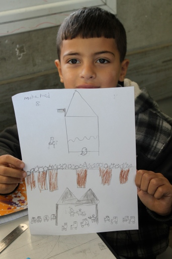 Mohamad's drawing