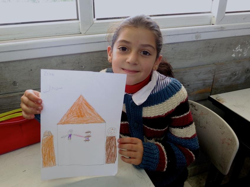 Zeina's drawing
