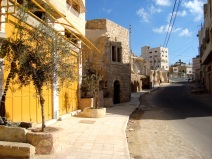 D.Peschel - Renovated by HRC street leading to Kiryat Arba settlement - Hebron - 281214
