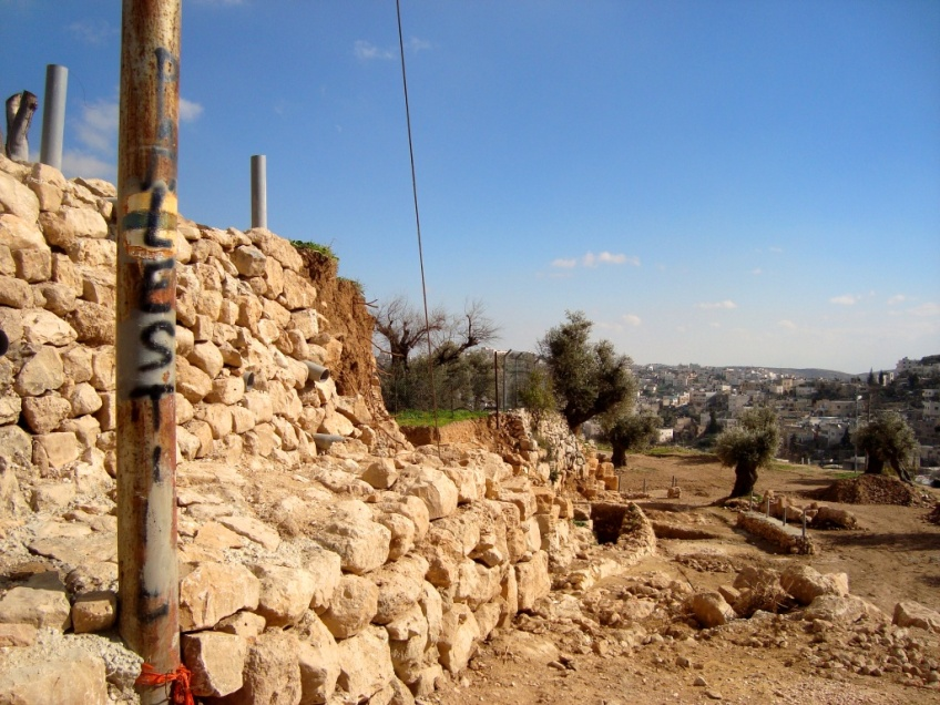 Surely the 'Biblical Park' won't be Palestinian. Photo EAPPI/D. Peschel.