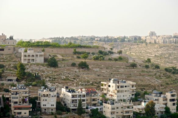 05.06.15 Beit Jala, Overlooking Cremisan Valley, Gilo settlement background. Photo EAPPI / I.Tanner
