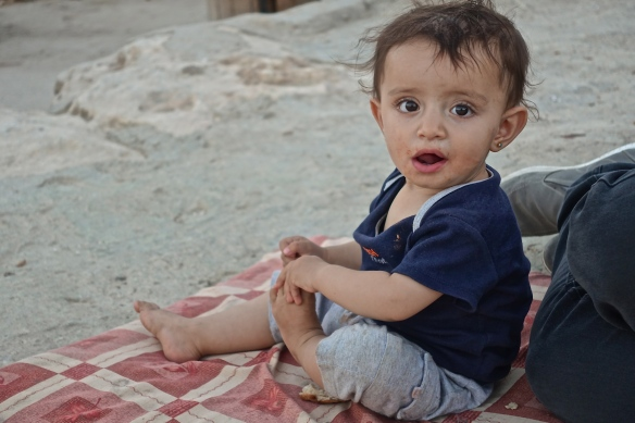 10.07.15. South Hebron Hills, One of Susiyas 120 childeren.