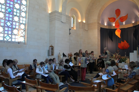 15.06.15 Jerusalem. Group 56 handover ceremony at St Andrews Church, Photo EAPPI I.Tanner