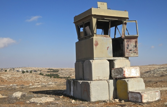 10.07.15. Watchtower close to Susiya, Photo EAPPI / L. Magne Helgesen