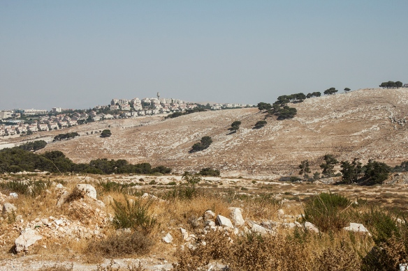 15.08.15, E1 area, Ma'ale Adumim and Jabal Al Baba. Photo EAPPI/ E. Aldenberg