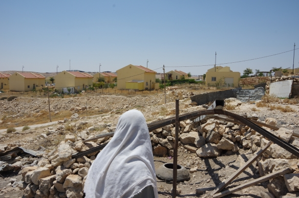 30.07.15 . South Hebron Hills, Um al Kher next to Karmel settlement. Photo EAPPI / S. Lise Bedringaas