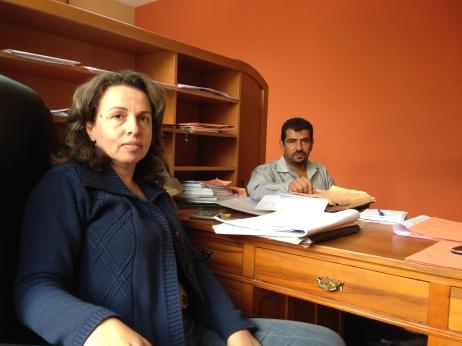 08.10.15 Beit Jala Samia Khalilieh and Issa Shatleh Photo EAPPI/T. Finstad
