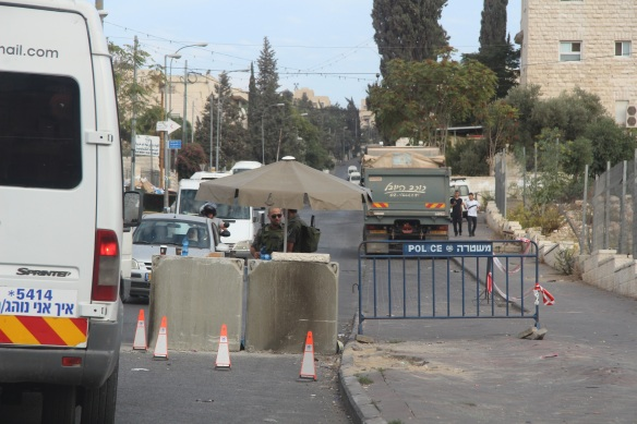 29.10.15. East Jerusalem, Checkpoint in Mount in Olives Photo EAPPI