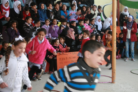 23.11.15 Hebron. Children at Cordoba playing Photo EAPPI/I. Stolpestad