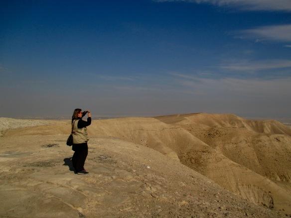 (PHOTO C) 31.12.15. North Jordan Valley, Palestine. Ecumenical accompianer photographs typical barren winter landscape. Photo EAPPI/ R. Ashbury