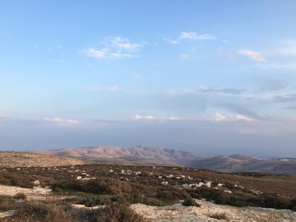 19.12.15. View of Jordan Valley on evening walk. EAPPI G.Kerr-Sheppard.JPG