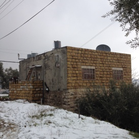 31.01.16 Hebron, Tel Rumeida, House mentioned with camera on the roof, EAPPI/ S. Tucci