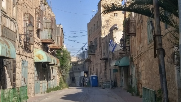 02.05.16, Hebron, Shuhada Street, Ghost Town, EAPPI/D. Romero
