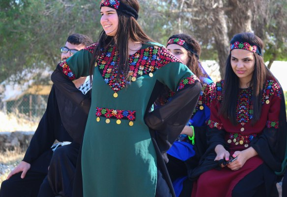 Folklore Dancers at Tent of Nations EAPPI/ J. O Shea, 12.05.2016