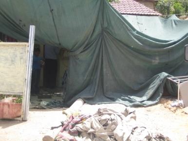 08.06.16, Wadi al Joz, The Amro families' half demolished home, EAPPI/Siphiwe