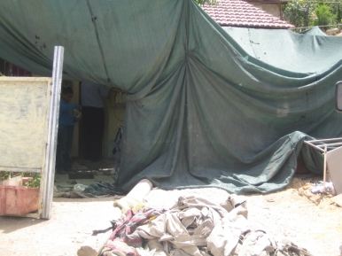 08.06.16, Wadi al Joz, The Amro families' half demolished home, EAPPI/Siphiwe