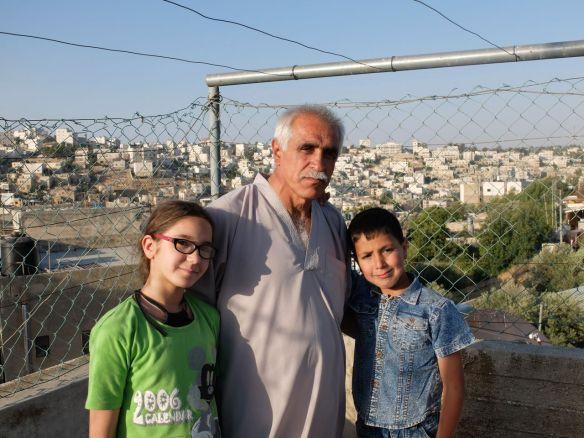 27.06.2016 Hebron-Abu Eisheh Family, residents of Tel Rumeida. Photo. EAPPI/E. Richardson