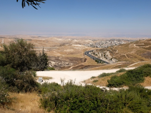 Jerusalem District view of E1 area. Photo EAPPI/Emily 11.06.2016