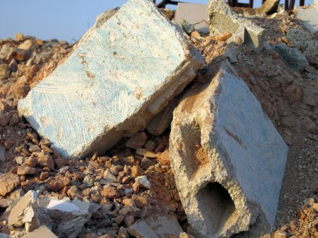 25.10.16, Beit Hanina, bricks of the wall of the house, Photo EAPPI, Agustina G..jpg